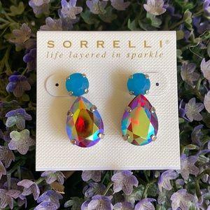 Sorrelli Ruby Moroccan Turquoise Earrings NWT
